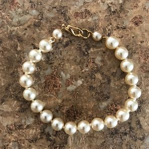Jewelry - Beige Gold Pearl Fashion Bracelet